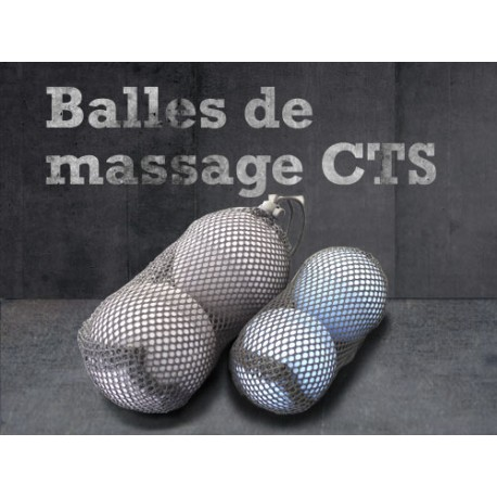 Pack Balles de massage CTS