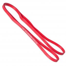 Bande élastique rouge à l'unité
