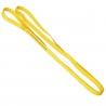 Bande élastique jaune à l'unité