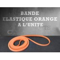 Bande élastique orange à l'unité