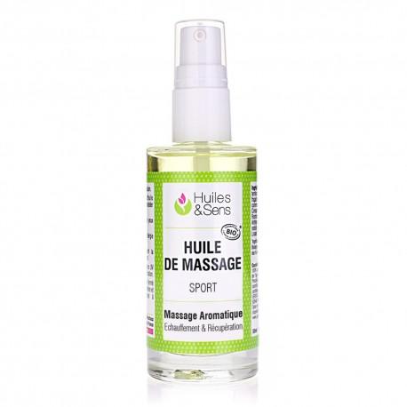 synergie  d'huiles essentielles de massage muscles et articulations 50ml