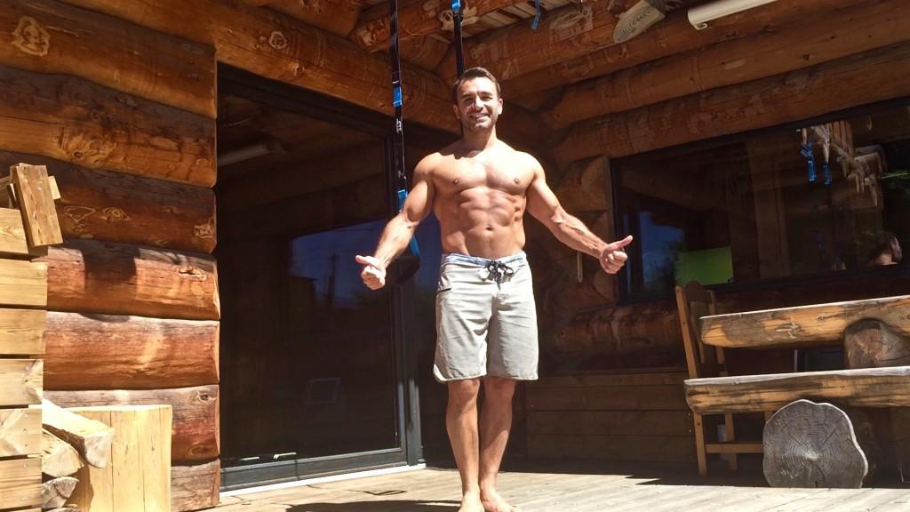 Circuit épaule biceps triceps gainage CTS