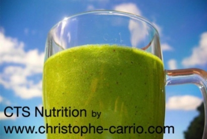 Smoothies anticancer CTS Nutrition à tester